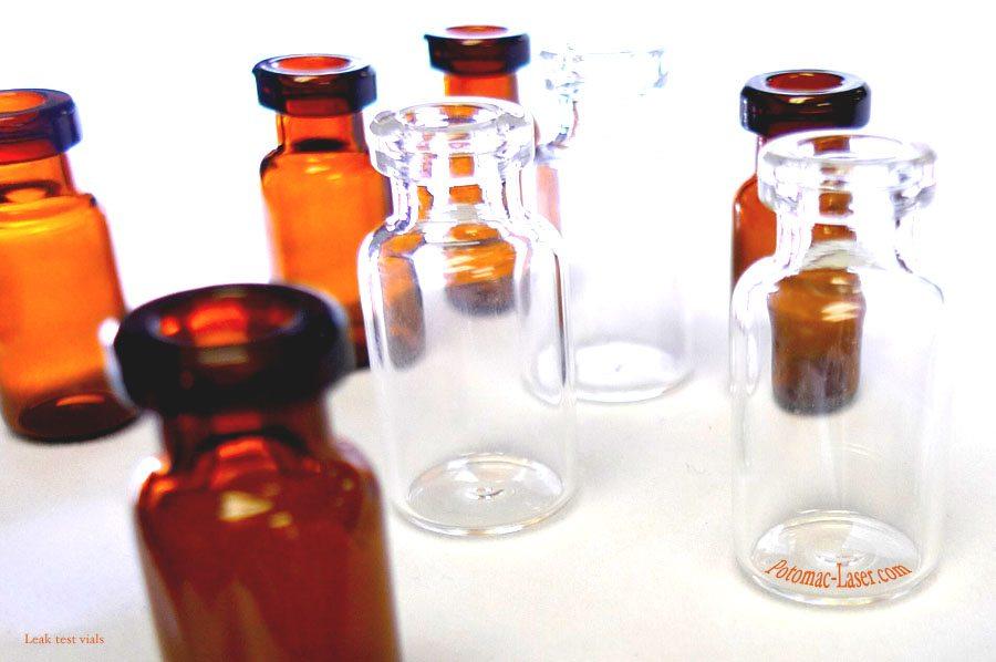 Leak Test Vials