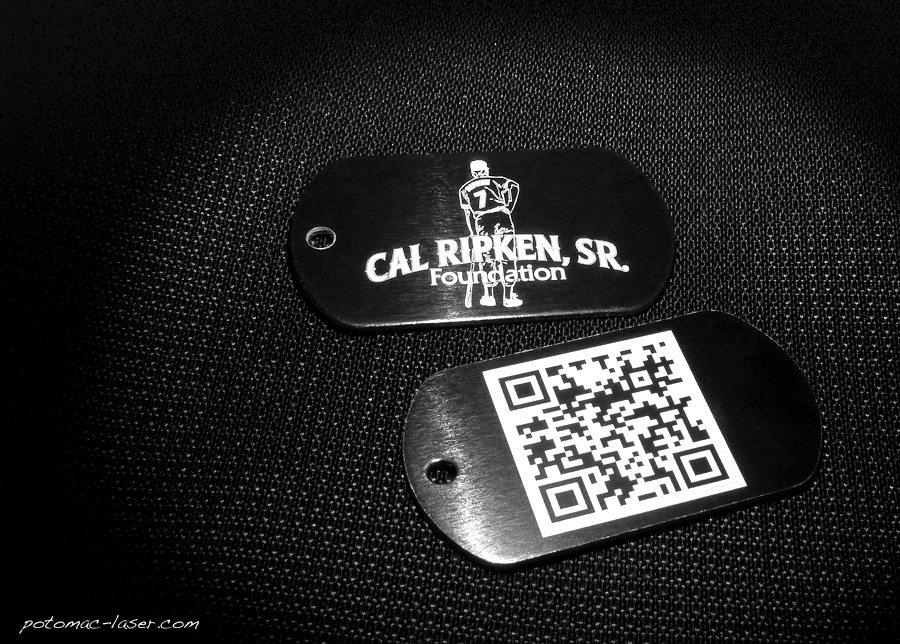 Laser Marking Services - QR Codes